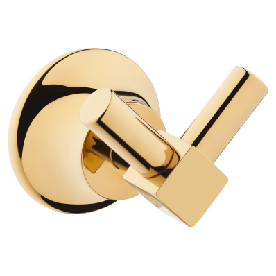 Juno Robe Hook (Double), Gold
