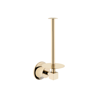 Juno Reserve Toilet Roll Holder, Gold