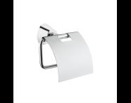 A44580 - Matrix Tuvalet Kağıtlığı  (Kapaklı)
