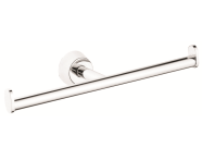 A44581EXP - Matrix Toilet Roll Holder (Double)