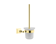 A4473723EXP - Elegance WC Brush Holder-gold