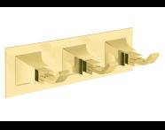 A4473823 - Elegance Üçlü Askı - Altın