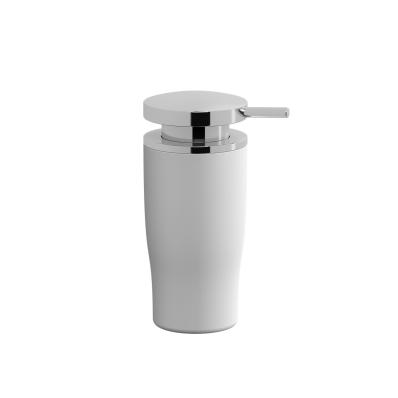 Eternity Liquid Soap Dispenser - White / Shinny Chrome