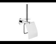A44968 - Arkitekta Kapaklı Tuvalet Kağıtlığı+Yedeklik