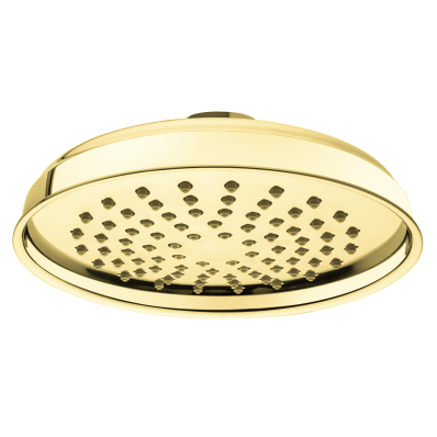 Elegance Showerhead, Ceiling Mounted, Gold