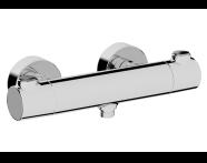 A47158EXP - AquaHeat RS3 Shower Mixer,  Chrome