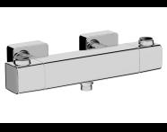 A47160 - Aquaheat Ss3 Duş Bataryası , Krom