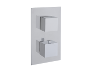 A47163EXP - AquaHeat S2 Built-in Bath/Shower Mixer, 2-Way Diverter, Chrome