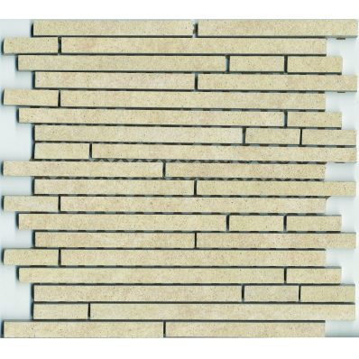 1.5x15 Pompei Cut Border Cream Matt