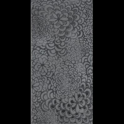 30x60 Bloom Dekor Antrasit Parlak