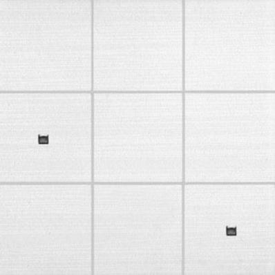 10x10 Elegant Dekor 1 Beyaz Mat