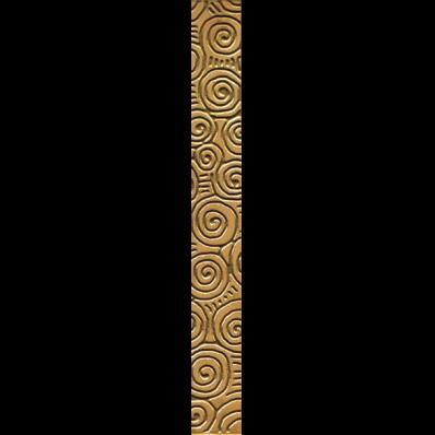 7x60 Marmo Savona Border Gold Matt