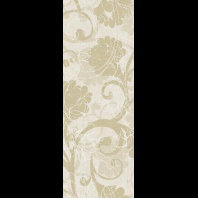 25x70 Sepia Decor 1 Cream Glossy