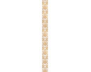 K072610R - 6x60 Adora Bordür 1 Krem - Altın Parlak