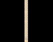 K072621R - 6x60 Adora Bordür 2 Altın Parlak