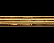K072676R - 5.5x20 Adora Bordür Altın Parlak