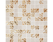 K072724R - 30x30 Adora Mozaik Krem - Altın Parlak