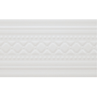 12x25 Favorite Border White Matt