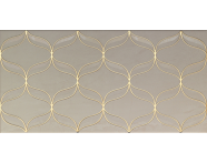 K082255 - 30x60 Ethereal Dekor Altın - Açık Bej Parlak