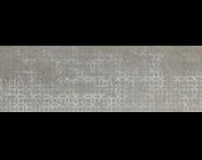 K082465R - 33x100 Vintage Dekor 1 Gümüş Parlak