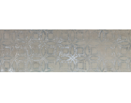 K082480R - 33x100 Vintage Dekor 2 Gümüş Parlak