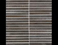 K085280R - 30x30 Terra Nova Kesme Bordür Nero Mat