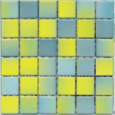 5x5 ColorLine Mozaik Sarı - Mavi Parlak