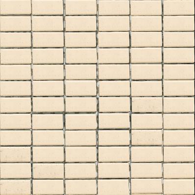 2.5x5 Naturline Mosaic Ivory Matt