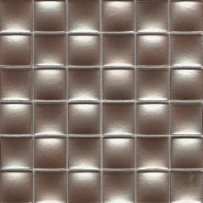 5x5 Glamour Mosaic Dore Glossy