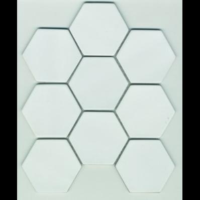 30x30 Shape Tile Ral 9016 Matt