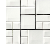 K5400548 - 5x5 Day-to-Day Mozaik Beyaz Parlak