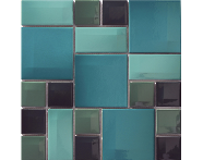 K5400808 - 5x5 Day-to-Day Mozaik Aqua Mavi Parlak