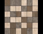 K5416934R - 5x5  Metro Mozaik Bej - Schlamm - Koyu Kahve Mat