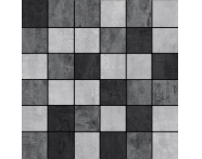 K5416944R - 5x5  Metro Mozaik Gri - Antrasit - Bazalt Mat