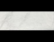 K920232R - 25x70 Attraction Dekor Beyaz Parlak