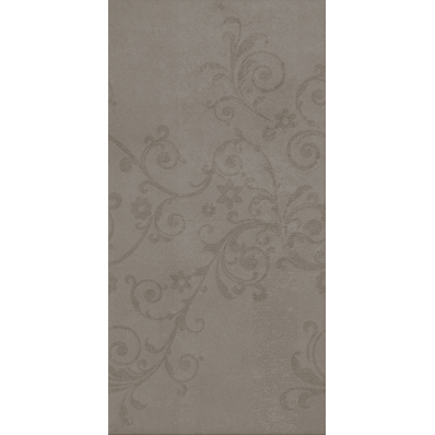 45x90 Piccadilly Dekor Grej Yarı Parlak