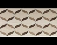 K927965 - 30x60 Ethereal Dekor 1 Açık Bej - Kahve Parlak