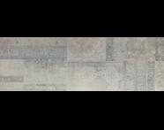 K929085R - 33x100 Vintage Dekor Gri Parlak