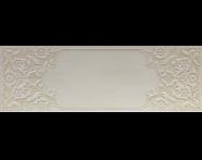 K929645R - 33x100 Provence Dekor 1 Beyaz Mat