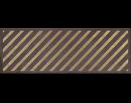 K943547R - 25x70 Clayworx Çizgi Altın Dekor Antrasit Mat
