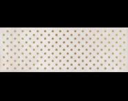 K943554R - 25x70 Clayworx Nokta Altın Dekor Beyaz Mat
