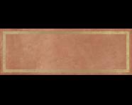 K943557R - 25x70 Clayworx Çerçeve Altın Dekor Taba Mat