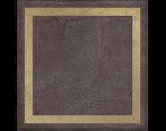 K943560R - 25X25 Clayworx Çerçeve Altın Kesme Dekor Antrasit Mat