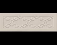K943580 - 10X30 Homemade Damask Çerçeve Dekor Kum Beji Parlak