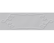 K943604 - 10X30 Homemade Örgü Çerçeve Dekor GRİ Parlak