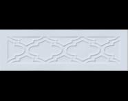 K943614 - 10X30 Homemade Damask Çerçeve Dekor Gök mavi Parlak