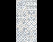 K943639 - 30X60 Craftmix Scored Düz Patchwork Dekor Mavi Parlak