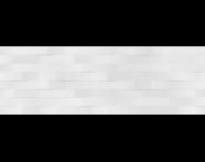 K943709R - 33X100 Upbeat Rölyef Dekor Beyaz Mat