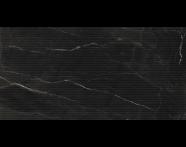 K944013R - 40X80 Black & White Star Çizgi Dekor Siyah Parlak