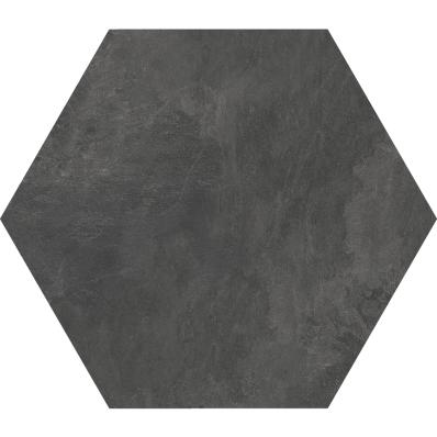 60X60 Tech-Slate Altıgen Dekor Antrasit